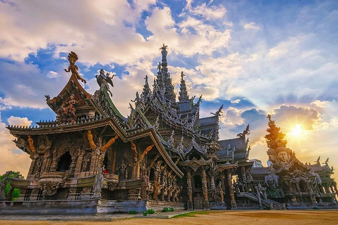 The Sanctuary of Truth at Pattaya Admission Ticket with Return Transfer