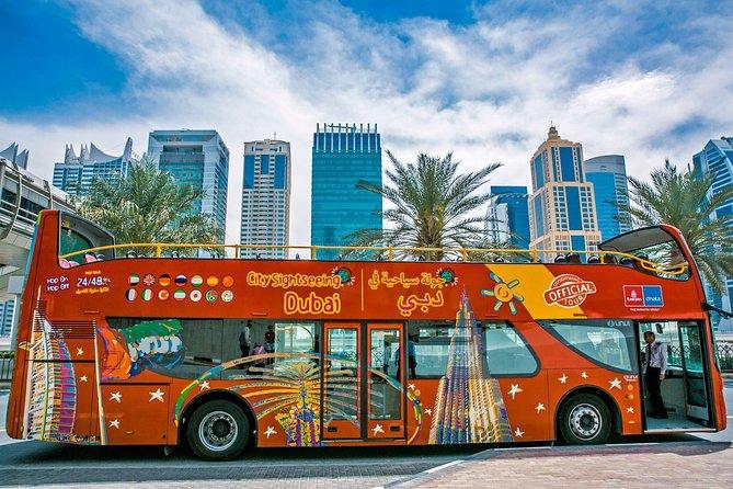 Excursão turística de Dubai em ônibus panorâmico