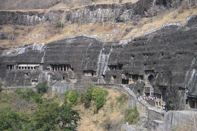 Aurangabad, Ajanta and Ellora Caves Tour with flight from Mumbai (3 Days)