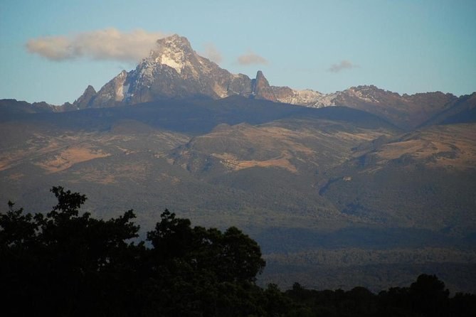 We offer tour guiding and trekking services in Mt Kenya(Naromoru route)