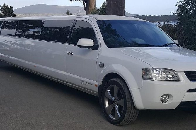 Hobart Airport Transfers in Stretch Limousine up to 8 people $150 dollars total.