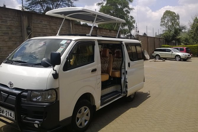 Nairobi Full Day Excursion (Hire Minivan & Driver only)