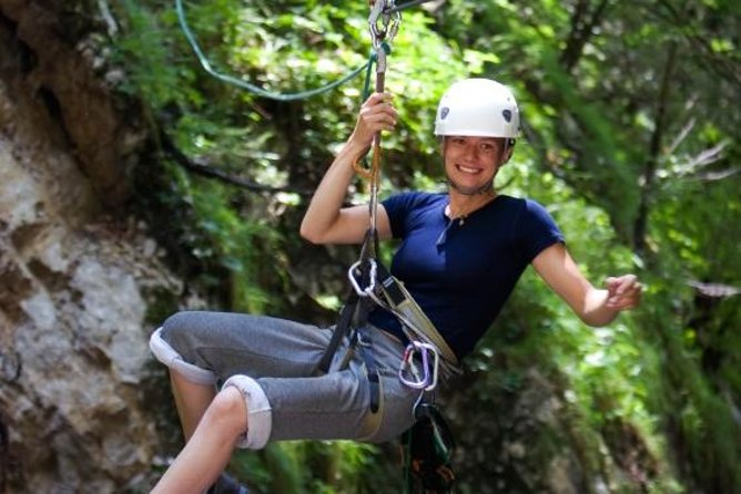 Horseback Riding, Zipline Rappel, Rock Climbing, Rafting and Hot Springs photo 1