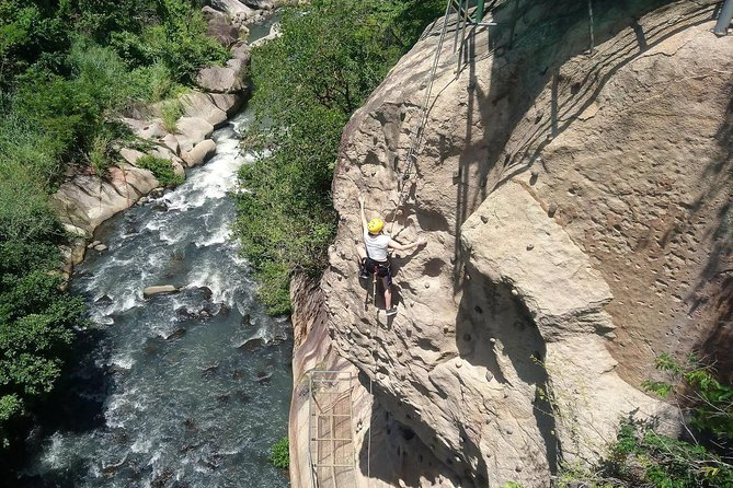 Horseback Riding, Zipline Rappel, Rock Climbing, Rafting and Hot Springs photo 4