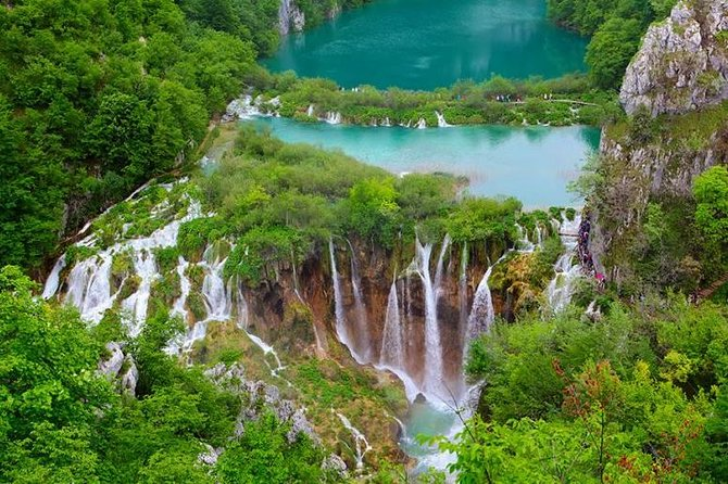 Zagreb to Split private transfer with National park Plitvice lakes guided tour