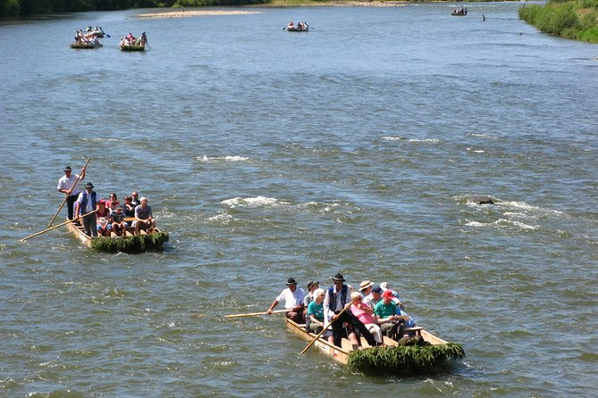 Dunajec River rafting, regular small group tour from Krakow