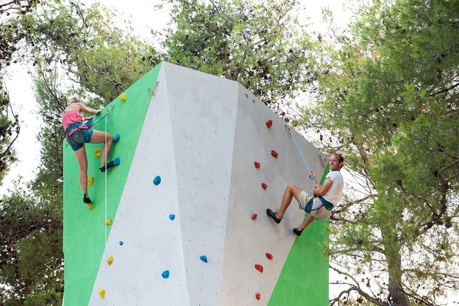 Sport climbing tower in Vodice