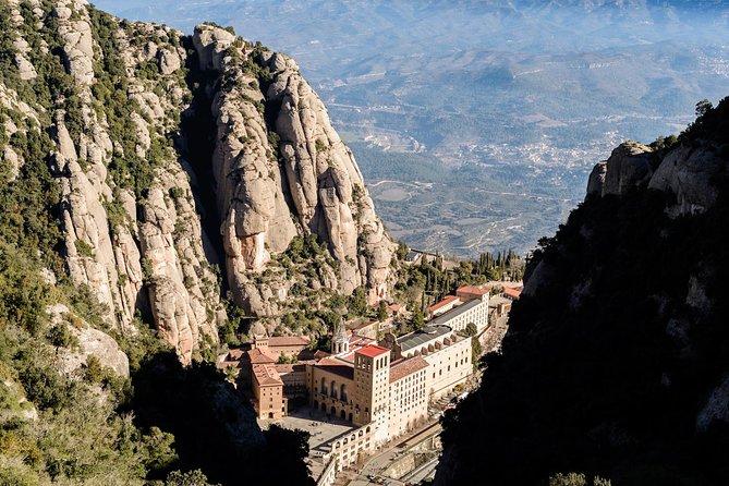 Montserrat Monastery from Above