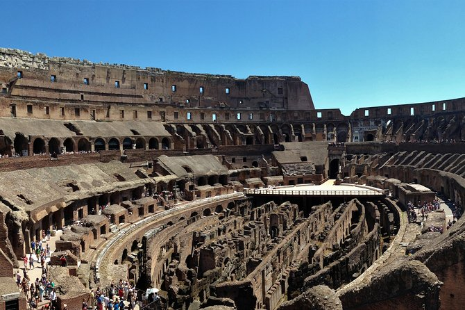 Private Colosseum and Belvedere Tour with Hotel Pick-up and Drop-off