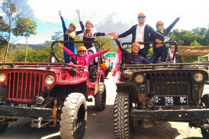 Private Tour: Full Day Lava Tour By Jeep In Merapi Volcano Including Borobudur Sunrise Pawon Mendut and Prambanan Temples Tour