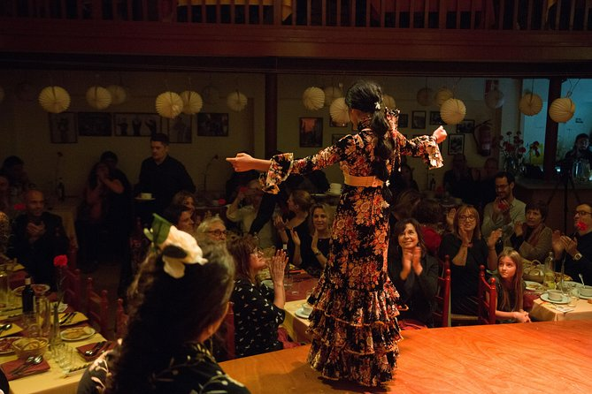 Skip the Line: Flamenco Experience Ticket @Tablao de Carmen with Dinner or Drink