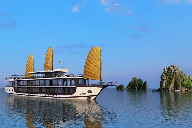 Halong Bay 2 Days 1 Night with Peony Cruise 5 Star Luxury
