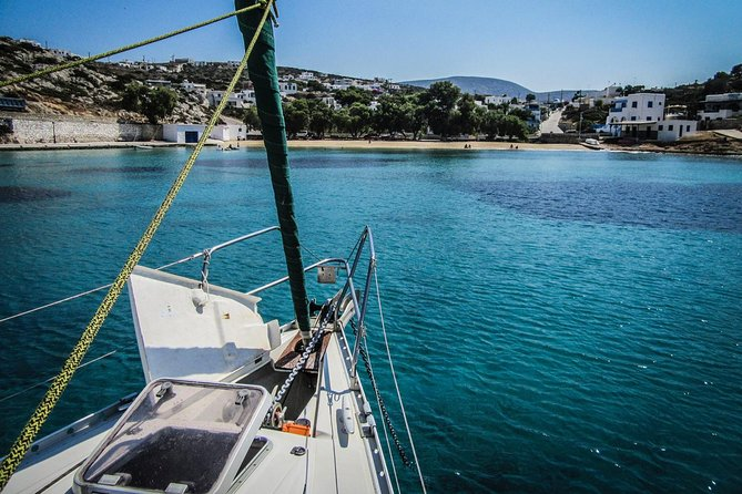All inclusive day sailing tour from Naxos to the small cyclades