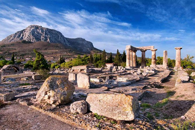 Athens to Corinth & Nemea Full-Day Private with Wine Pairing & Museum Tickets