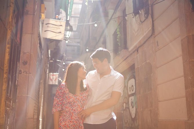 Barcelona Photoshoot around secret corners!