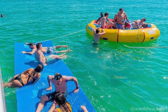 South Beach Sail Splash aboard the Caribbean Spirit