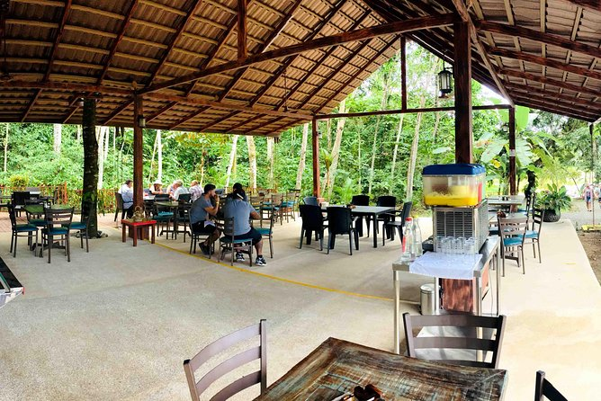 Enjoy our amazing typical lunch in our Jungle Restaurant