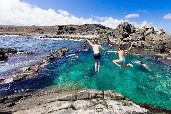 From Oranjestad: Full-Day Island Jeep Safari Tour