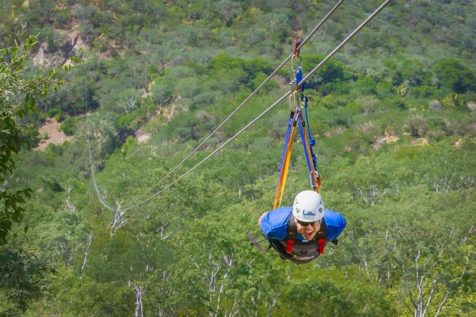 Outdoor Zip Line Adventure from Los Cabos