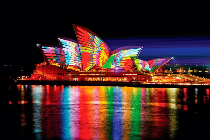 Private Vivid Sydney Harbour Cruise For Up To 20 Guests
