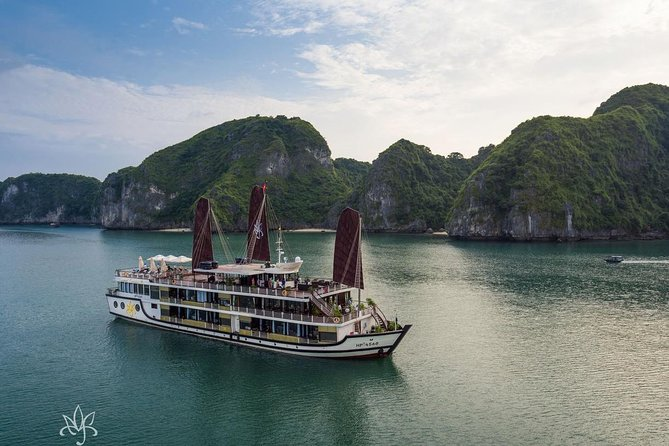 Halong Bay 2 Days 1 Night with Orchid Cruise 5 Star Luxury