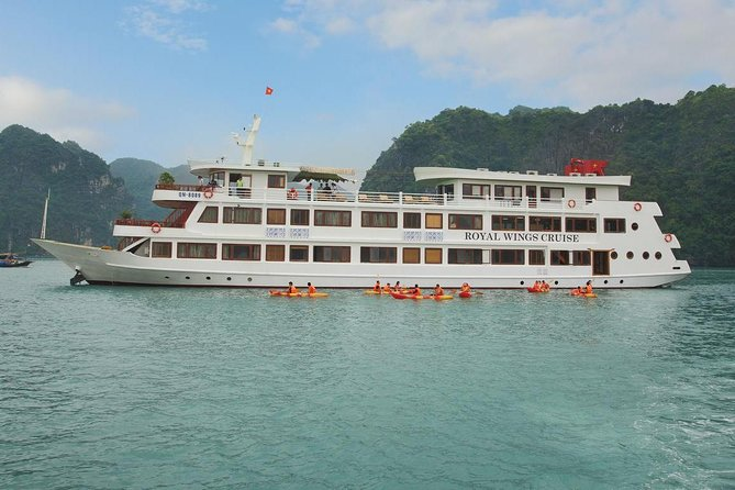 Halong Bay 2 Days 1 Night with Royal Wings Cruise 5 Star Luxury photo 1
