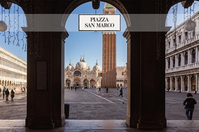 Piazza San Marco: Doge's Palace & Basilica guided tour