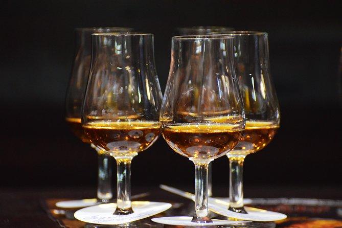 Shustov brandy tasting