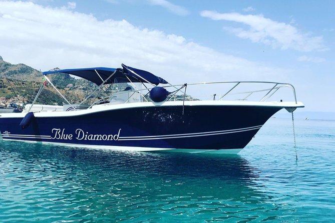 Taormina coastline boat tour with swim & snorkel at Isola Bella