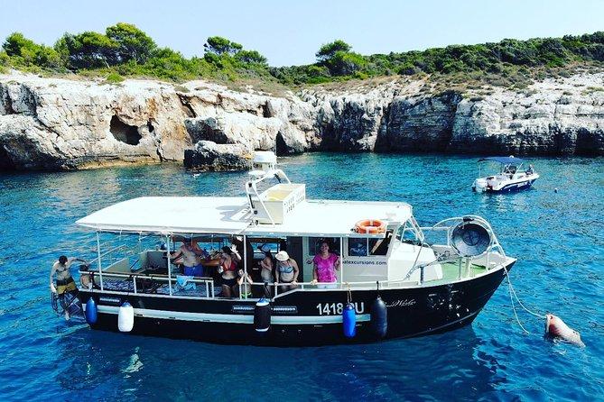 Excursion en bateau avec baignade et plongée en apnée dans le sud de l'Istrie au cap Kamenjak Premantura