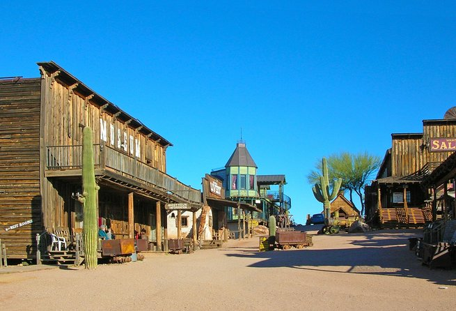 Goldfield Ghost Town and Mine