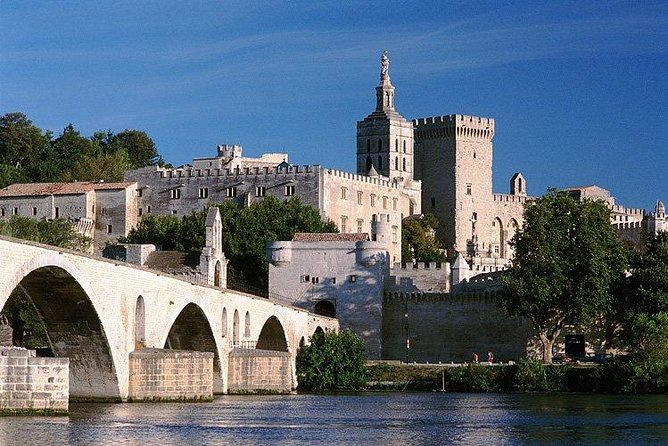 Avignon, Palace of the Popes and tasting of Côtes du Rhône wines
