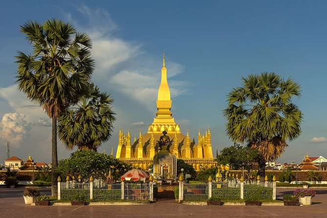 Private Tour: Full-day Cycling The City Streets Vientiane with Buddha Park