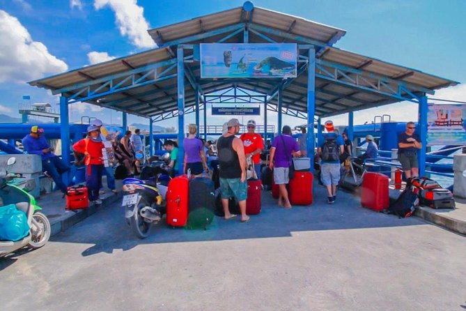 Koh Phangan to Surat Thani Don Sak Pier by Seatran Discovery Ferry