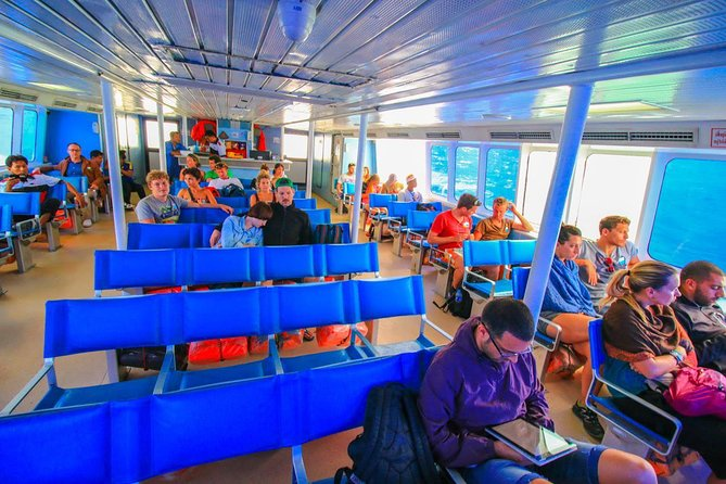 Koh Phangan to Krabi by Seatran Discovery Ferry and Coach