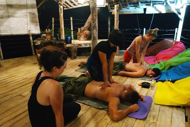 Balinese Massage class in Dream Hill Retreat Center,Bali