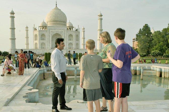All Included: Same Day Private Tour- Delhi/Agra/Delhi. 01 to 02 Travelers.