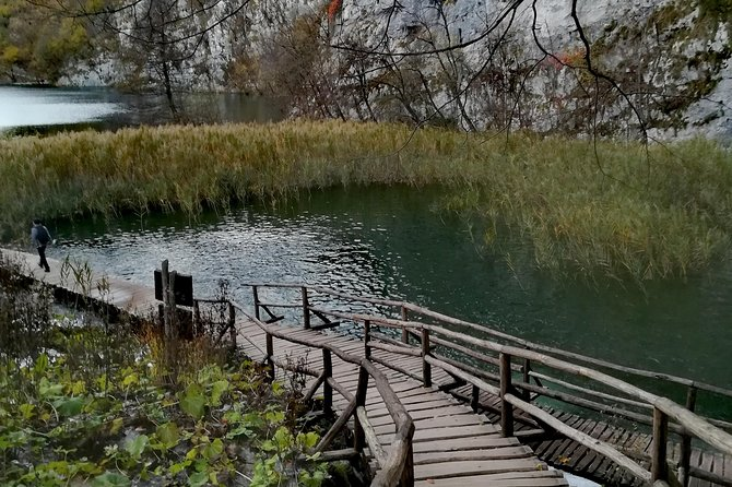 Private Tour from Island Pag to Plitvice Lakes with drop- off Zagreb