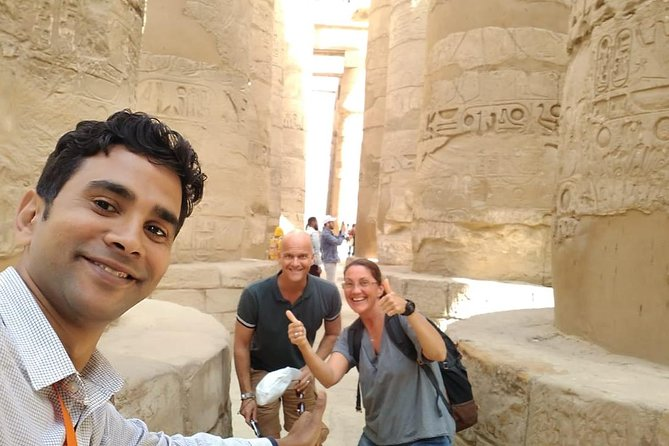 Luxor with private car and private tour guide from Sahel Hashesh