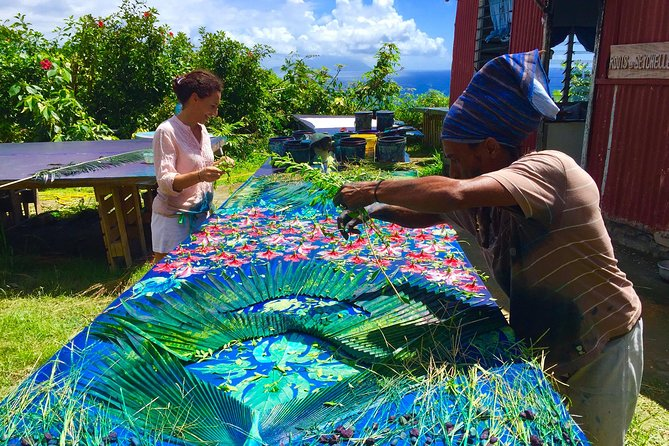 Learn the Traditional Seychelles Art of Sun Printing with Local Textile Designer