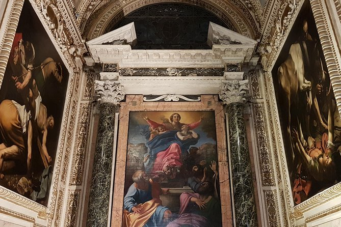 In the Footsteps of Caravaggio Private Tour with Hotel Pick-up and Drop-off