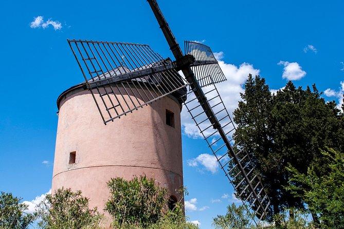 Leonardo Da Vinci's wind mill visit and Organic olive oil tasting