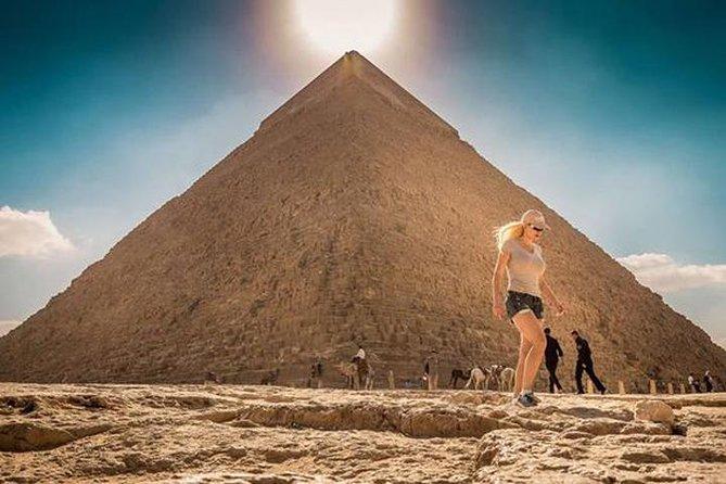 Private Day Tour: Giza Pyramids, Old Cairo, and El Mokattam Mountain Cave Church