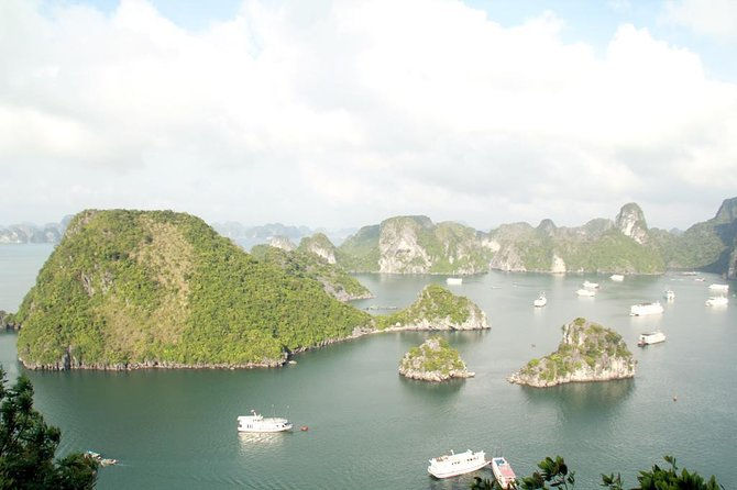 HALONG BAY 5 STAR & LUXURY CRUISE 2D/1N: Kayaking, Swimming, Titop island