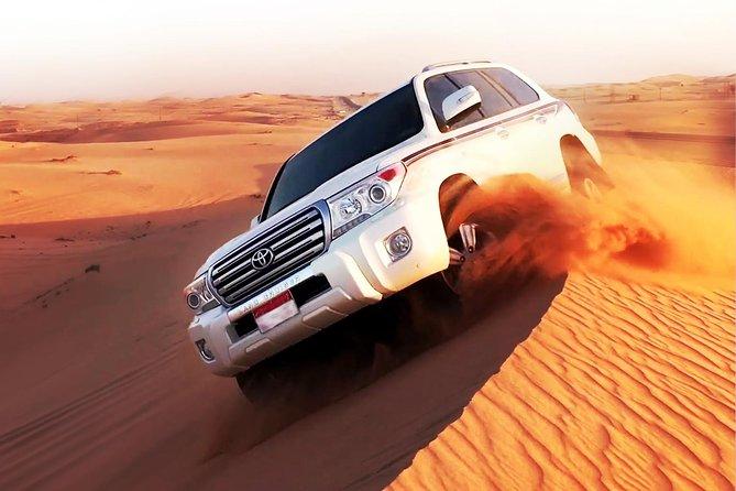Dubai Desert Safari 4x4 Dune with Camel Riding and Sandboarding
