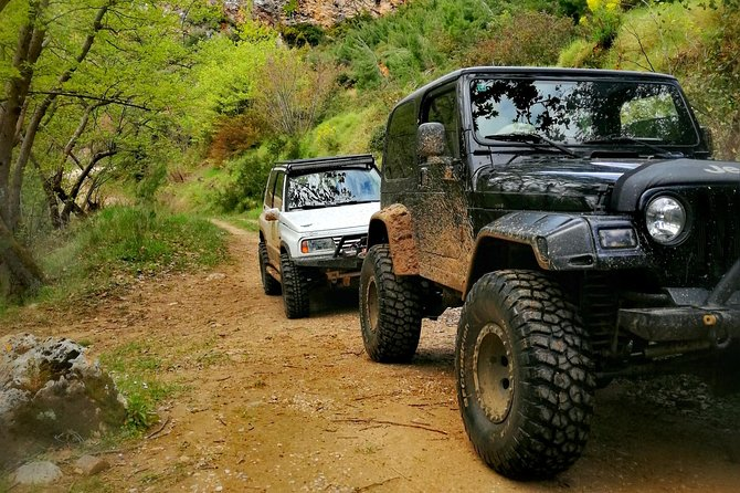 Off road experience from the mountain to the sea