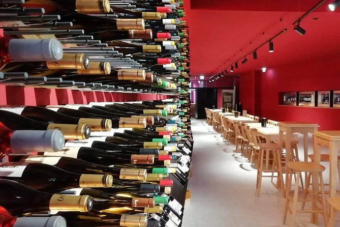 One of the wine bars visited throughout the tour