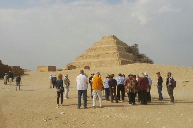 Private Day Tour: Sakkara & Dahshur Pyramids from Cairo
