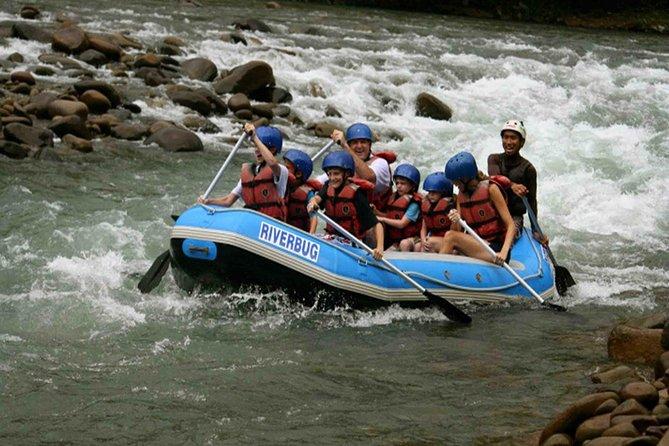 Kiulu Water Rafting (Level 1 - 2) Combo Ultimate Zip Borneo