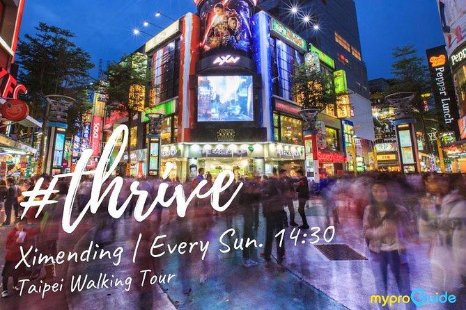 Ximending Area Walking Tour